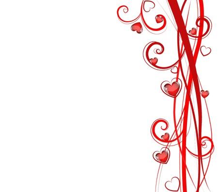 Love card Illustration