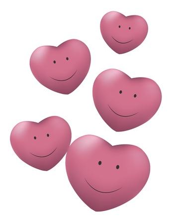 pink balls Stock Vector - 17805443