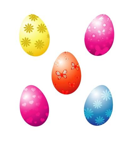 set of eggs Illustration
