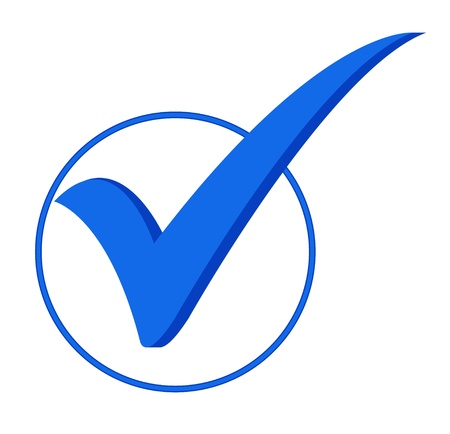 blue icon Vector