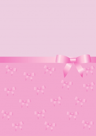 vector background with a bow