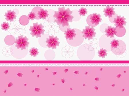 lowers:  floral background