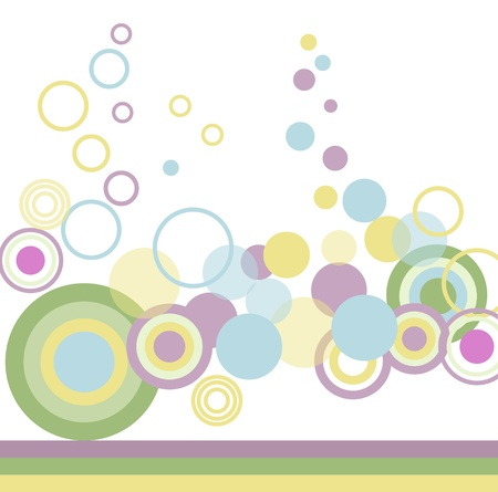 Colourful abstraction  Vector
