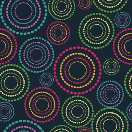 Seamless festive background from circles.