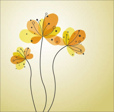 abstract flower  Illustration