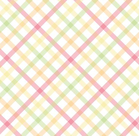 striped band: pink, yellow, green diagonal pattern Illustration