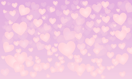 measures: vector background with hearts, Valentines Day