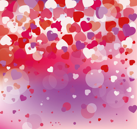 vector background with hearts, Valentines Day, Womens Day