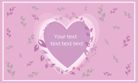 Vector background, greeting card, template Иллюстрация