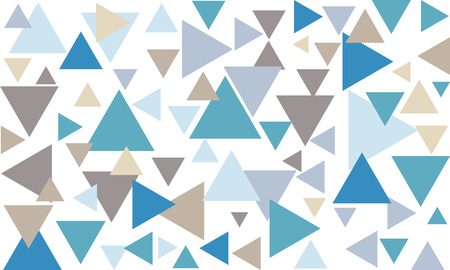 Vector background with triangles Illustration