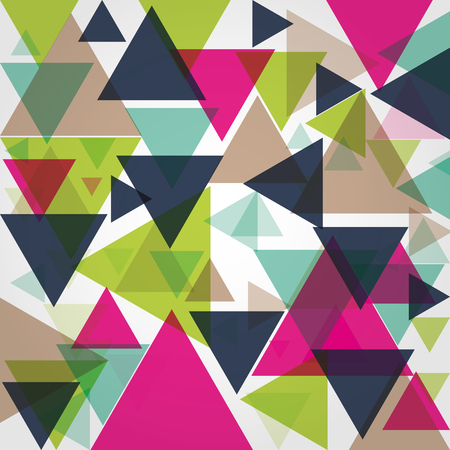 Vector pattern with triangles Иллюстрация