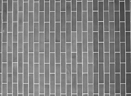 Gray brick wall photo