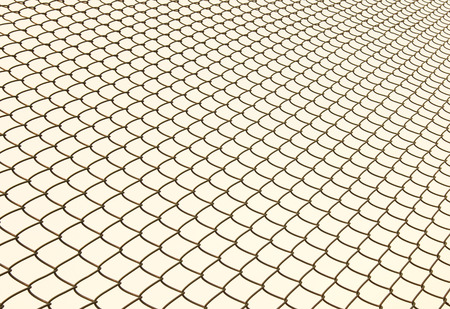 metal fence: Metal Fence abstract background Stock Photo