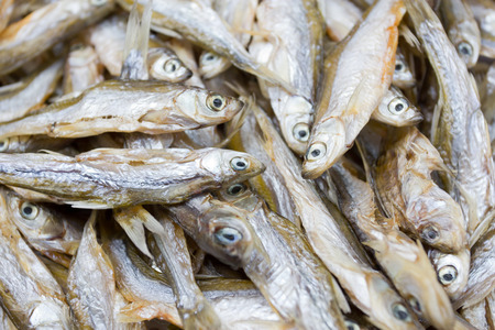 perch dried: Dried fish, the exotic menu in China