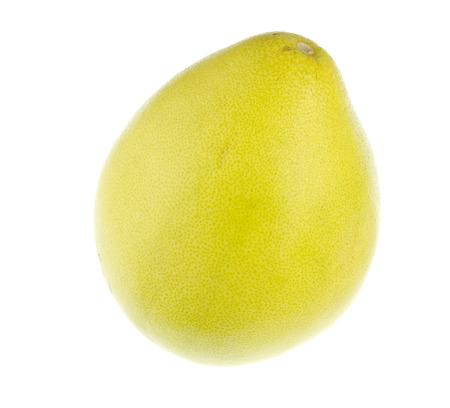 pomelo: Pomelo isolated on a white background
