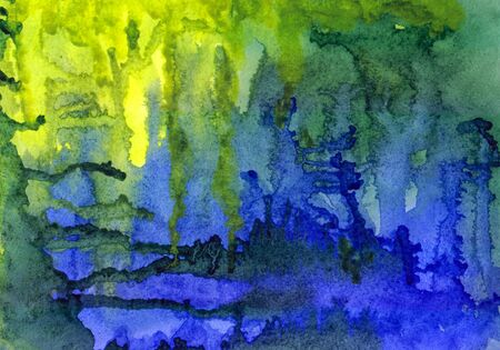 Watercolor vivd texture abstract background, hand drawn illustration