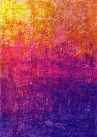 Watercolor vivd texture abstract background, hand drawn illustration Foto de archivo - 129453955
