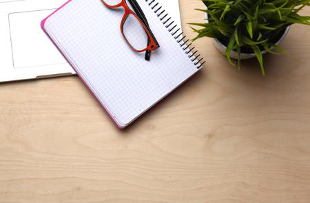 desk: Office desk Stock Photo