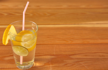 Lemonade glass. Lemonade is traditionally a homemade drink made with squeezed lemon, water and sugar, a simple recipe for a quick refreshing summer drink packed with vitamin c