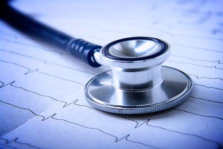 stethoscope. Standard-Bild