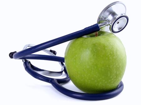 stetoskop: apple and stetoskop