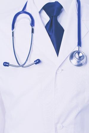 portret doctor in hospital