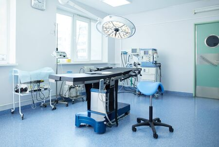 Interior of operating room in modern clinic Stock Photo - 128831494