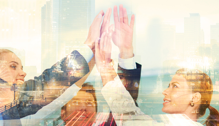 Business Handshake Umowy o partnerstwie