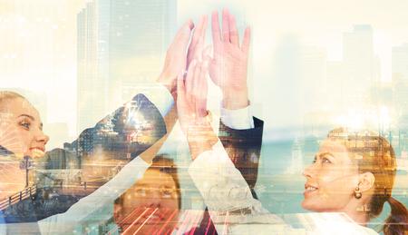 Geschäftshändedruck-Abkommen Partnerschaft
