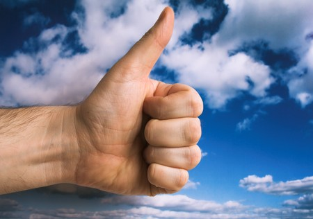 thumbs up Stock Photo - 4165708