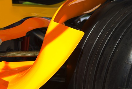 Formula One Detail Stock Photo