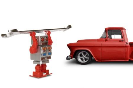 robot mechanic
