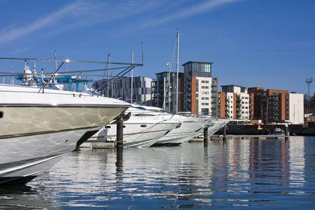 Ipswich Waterfront  Stockfoto