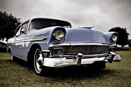 coche antiguo: Antiguos coches