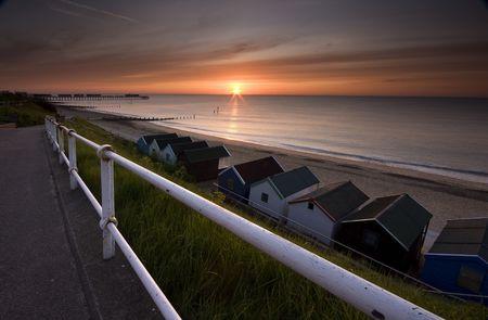 southwold: Southwold Beach Huts