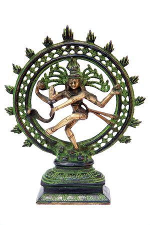 nataraja: Statue of Shiva Nataraja - Lord of Dance Stock Photo