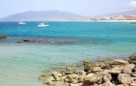 tarifa: View of the beach and ocean Spain Tarifa