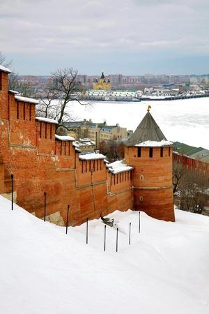 March in Nizhny Novgorod Kremlin Russia photo