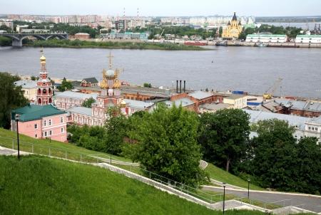 May spring view Nizhny Novgorod Russia photo