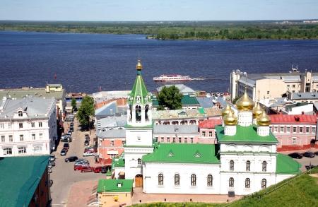 precursor: Spring may view Nizhny Novgorod Russia
