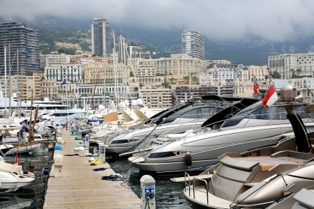 One of the piers in Monaco, Monte Carlo photo