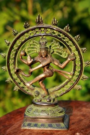 ヒンドゥー教の神シヴァ神の主ダンス 写真素材