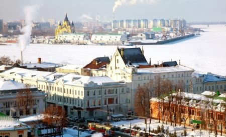 February view oldest part Nizhny Novgorod Russia photo