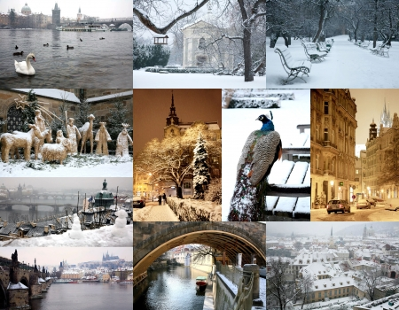 Winter Prague in pictures photo