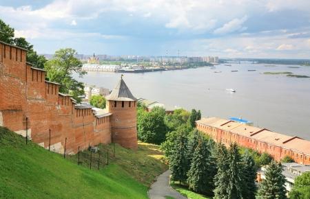 Nizhny Novgorod Kremlin Russia Stock Photo - 14860998