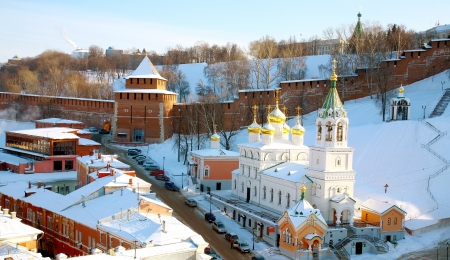 Church of the Nativity St.John Baptist Nizhny Novgorod  photo