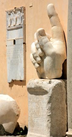 edificación: Edificaci�n. Coloso de Constantina. Italia, Roma. Foto de archivo