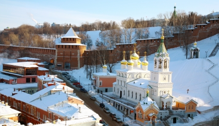 Church of the Nativity of St.John the Baptist Nizhny Novgorod  photo