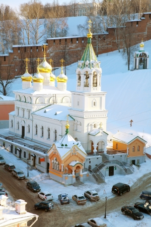 John the Baptist Church Nizhny Novgorod Russia photo
