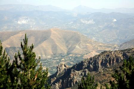 Berg in de Sierra Nevada, Spanje